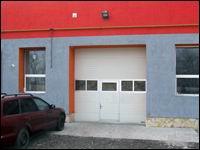 Beépített átjáró ajtó gyakori gyalogos használat esetére