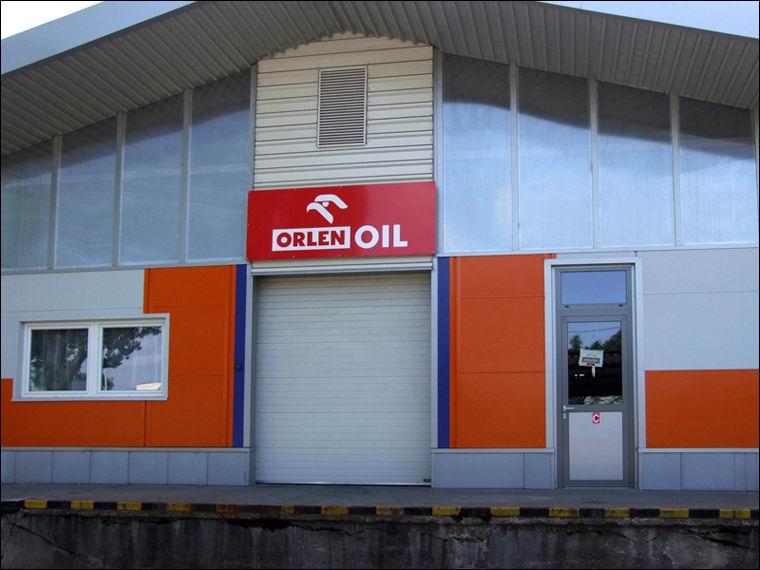 Az ORLEN OIL szekcionál kapuja