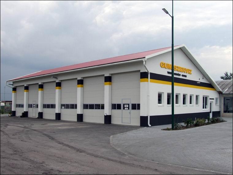 ECOTOR ipari kapuk az ERSTO Kft gumiszervizében