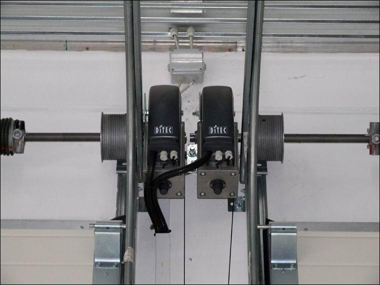 DITEC DOD ipari kapunyitó motorok intenzív igénybevételre